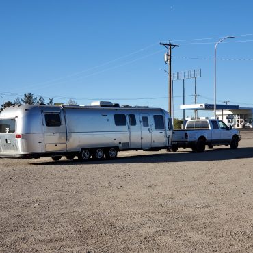 Living in an Airstream Travel Trailer Full Time