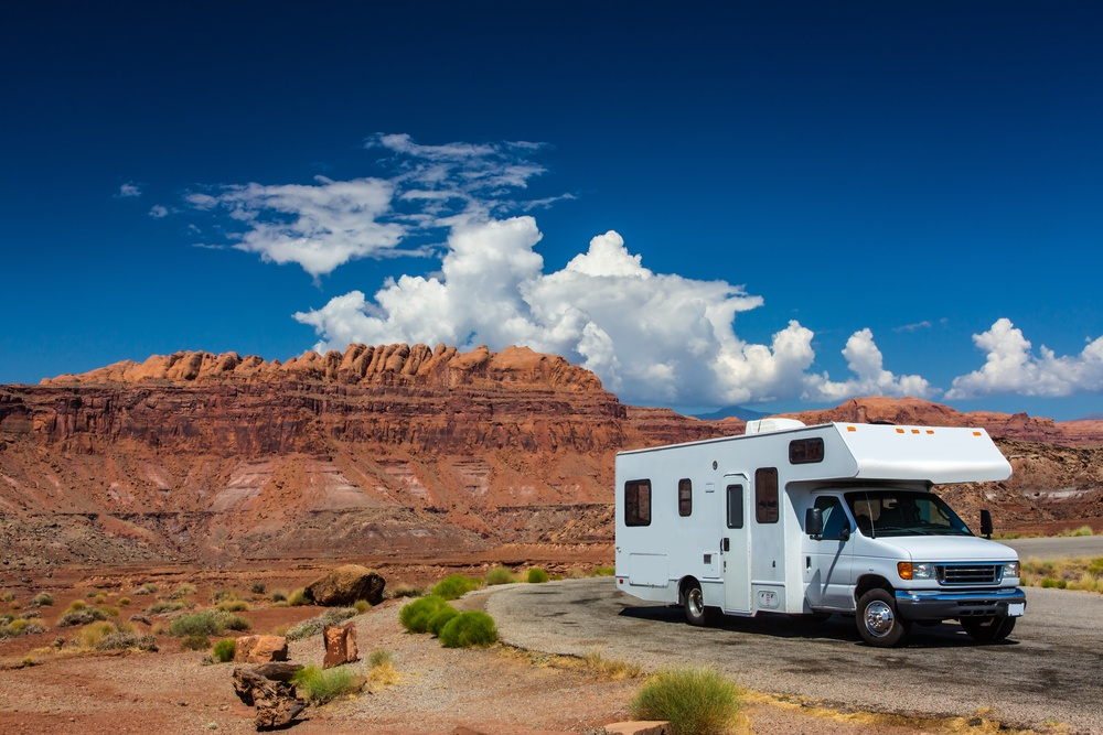 An example of a Class C RV Motorhome.